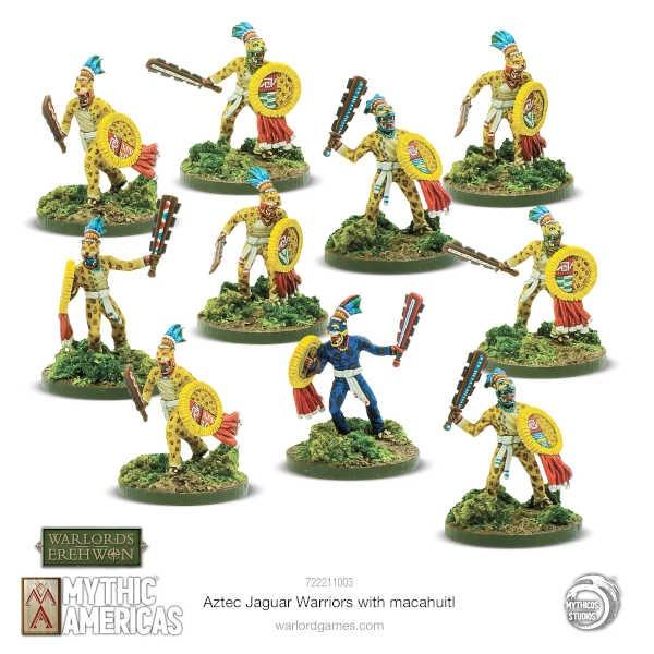 Jaguar Warriors with Macuahuitl