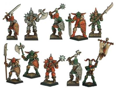 Armee des Chaos (10 Krieger)