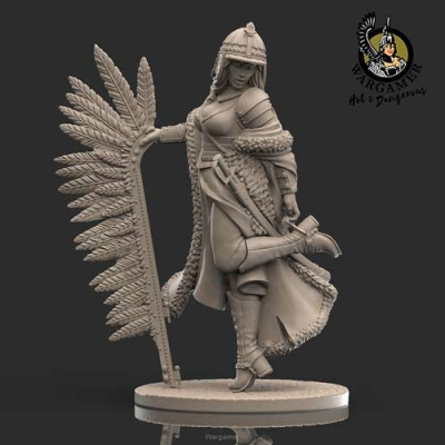 Olenka, the Winged Hussar 28mm
