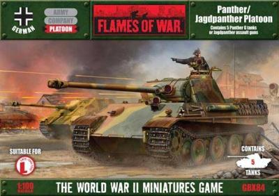 Panther/Jagdpanther Platoon (Plastic)