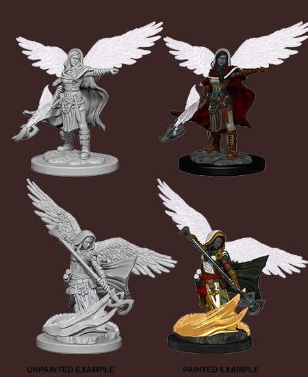 D&D Nolzur's Marvelous Miniatures - Aasimar Female Wizard (2