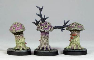 Shrieker's Violet Funghi (3)