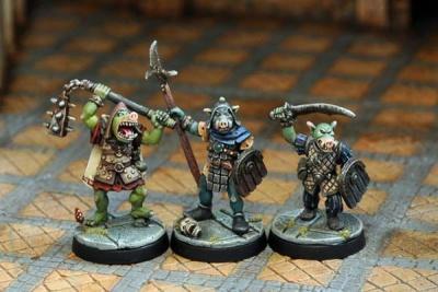 Pig-Faced Orc Warriors I (3)