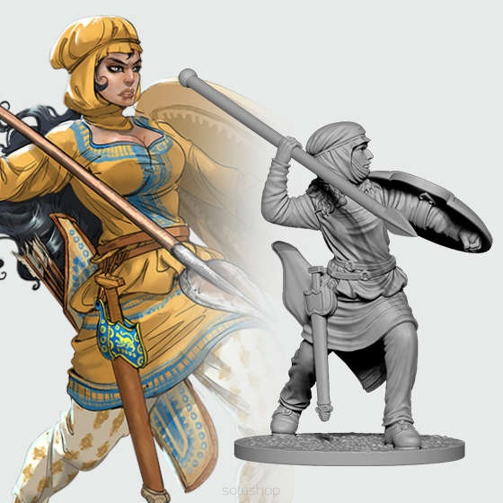 Darya the Immortal (54mm)