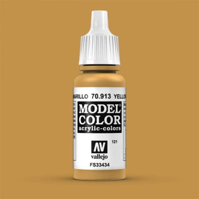 Model Color 121 Ockergelb (Yellow Ochre) (913)