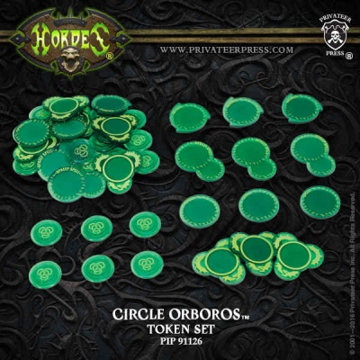 HORDES Circle of Orboros Faction Tokens 2016