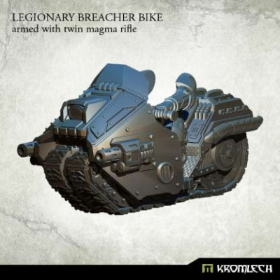 Legionary Breacher Bike: Armed with Twin Magma Rifle
