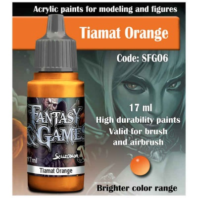Scalecolor Fantasy 06 Tiamat Orange (17ml)