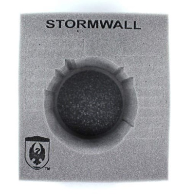 (Cygnar) Stormwall Colossal Foam Tray