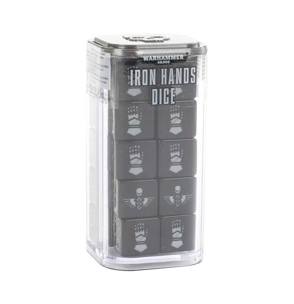 Warhammer 40k. Iron Hands Dice Set