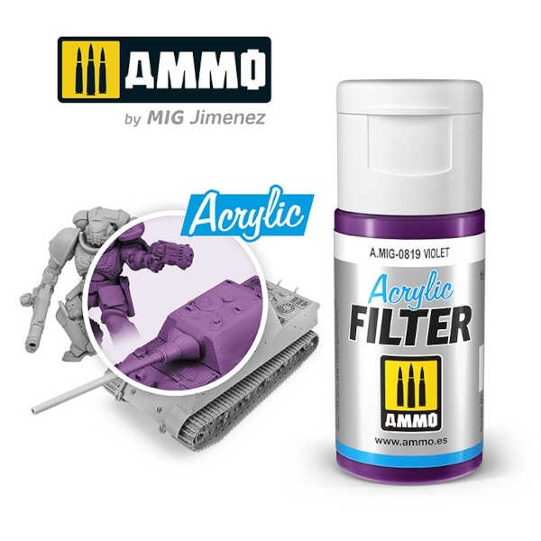 ACRYLIC FILTER Violet (15ml)