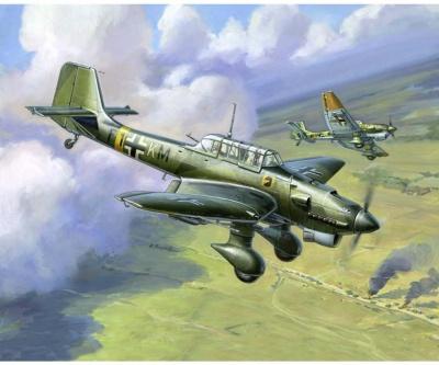 1:144 WWII Wargame AddOn Ger.JU-87 Stuka