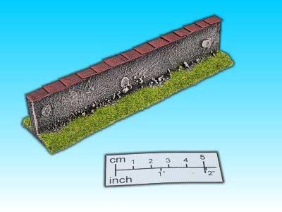 Geländestück Mauer