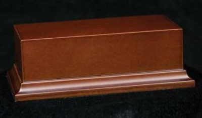Wooden Base Brown, 140x70x50mm