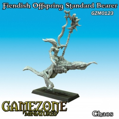 Fiendish Offspring Standardbearer