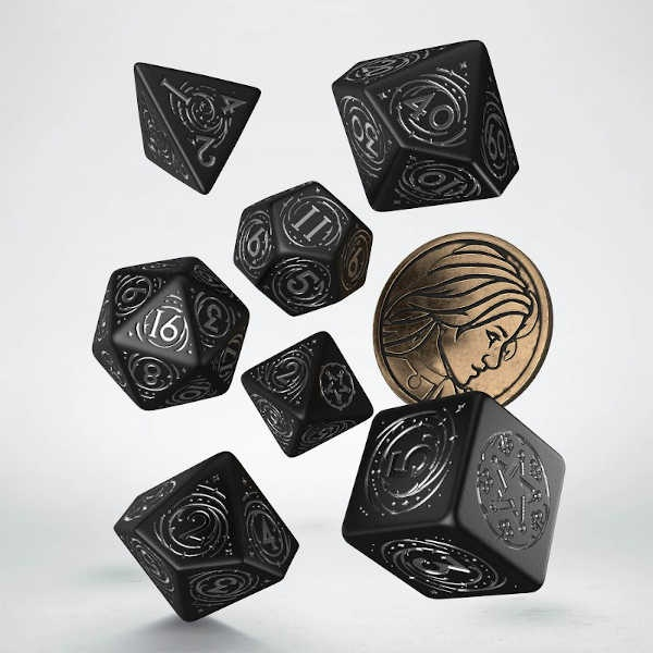 The Witcher Dice Set. Yennefer - The Obsidian Star (7)