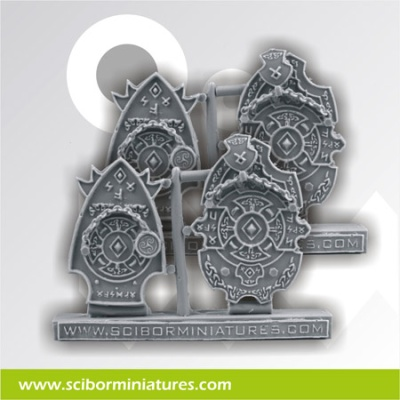 Celtic Decorated Plates #8 (4)