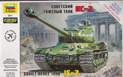 1:72 Soviet Heavy Tank IS-2