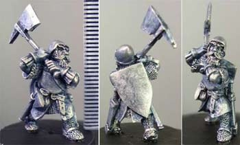 Male dwarf with axe