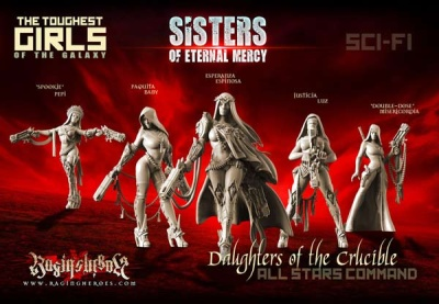 Daughters of the Crucible - All Stars ComGroup (SistersSF)
