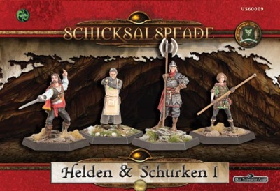 Schicksalspfade-Miniaturenbox - Helden & Schurken 1 (4)