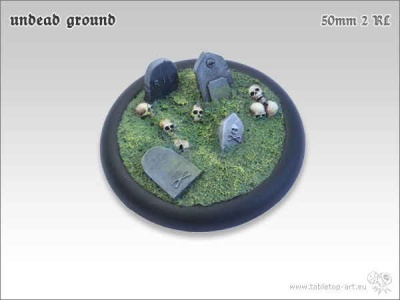 Undead Ground, 50mm Relief #2 (1)