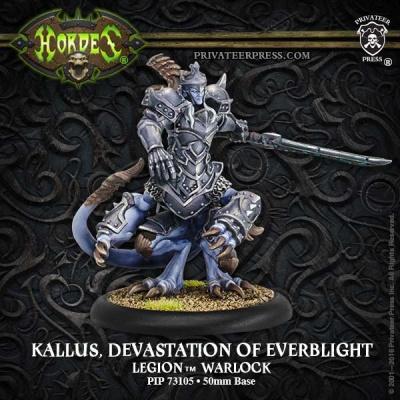 Legion Warlock Kallas, Devastation of Everblight (plastic)