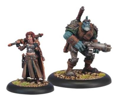 Mercenaries Dannon Blythe & Bull (2 Models)