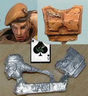 Kopf (Sgt) mit Brustplatte