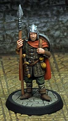 City Guardsman with spear