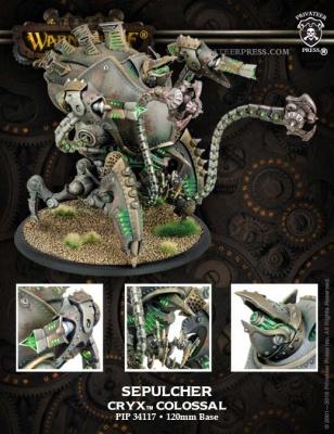 Cryx Colossal Kraken/Sepulcher (plastic)