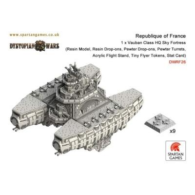 Republique of France Vauban Class HQ Sky Fortress
