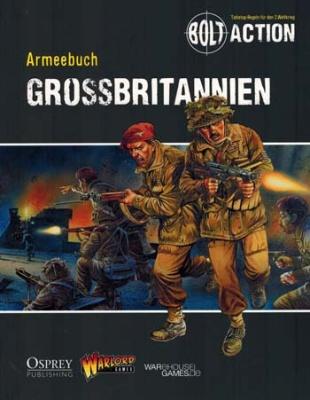 Bolt Action: Armeebuch Großbritannien (deutsch)