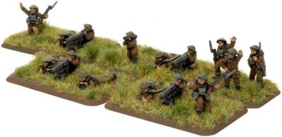 British HMG Platoon