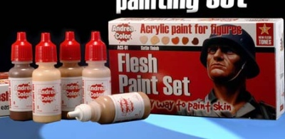 Flesh paint set (6)