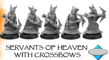 SERVANTS OF HEAVEN, WITH CROSSBOWS