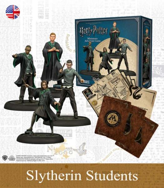 Harry Potter Miniature Game: Slytherin Students