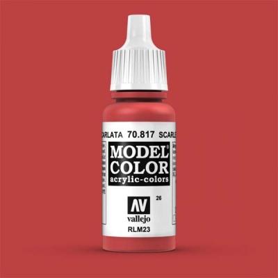 Model Color 026 Scharlachrot (Scarlet) (817)