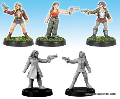 Militia Females with Pistols (5)