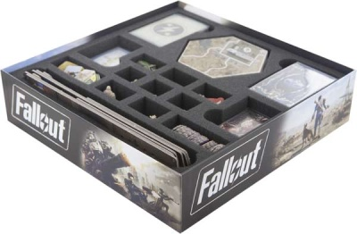 Schaumstoff-Set für Fallout Brettspielbox