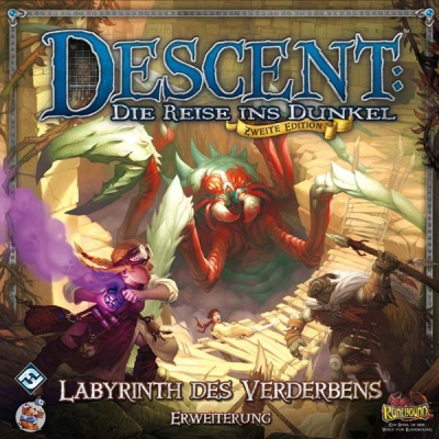 Descent 2. Edtion Labyrinth des Verderbens (2. Edtion)