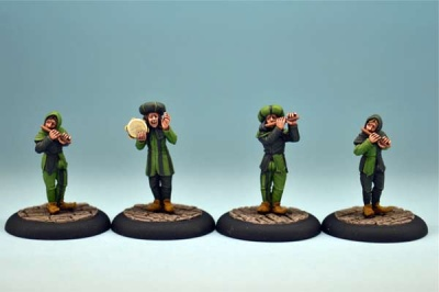 The Minstrels (4xMiniatures)