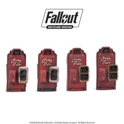 Fallout: - Terrain Expansion: Nuka Cola Machines (4)