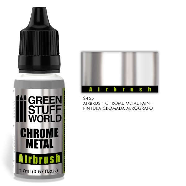 Chrome Paint Airbrush 17ml