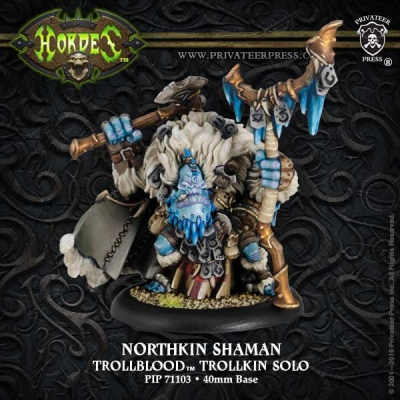 Trollblood Northkin Shaman Solo