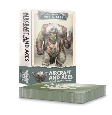 Aircraft & Aces Ork Air Waaagh! Cards
