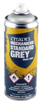 Mechanical Standard Grey Spray