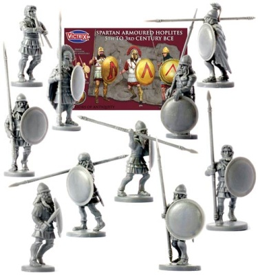 Spartan Armoured Hoplites( 5th-3rd BCE)