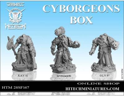 28mm Cyborgeons BOX ( set 3)