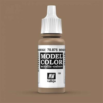 Model Color 135 Beigebraun (Beige Brown) (875)